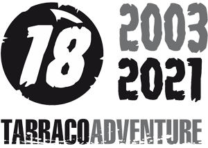 logo 15 anys Tarraco Adventure